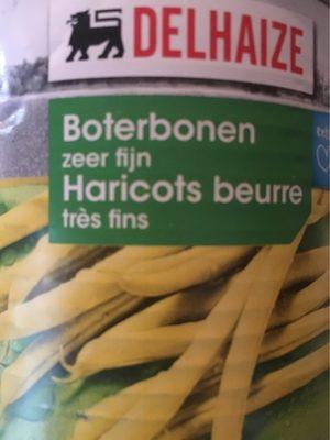Haricots beurre - très fins - Produit - fr