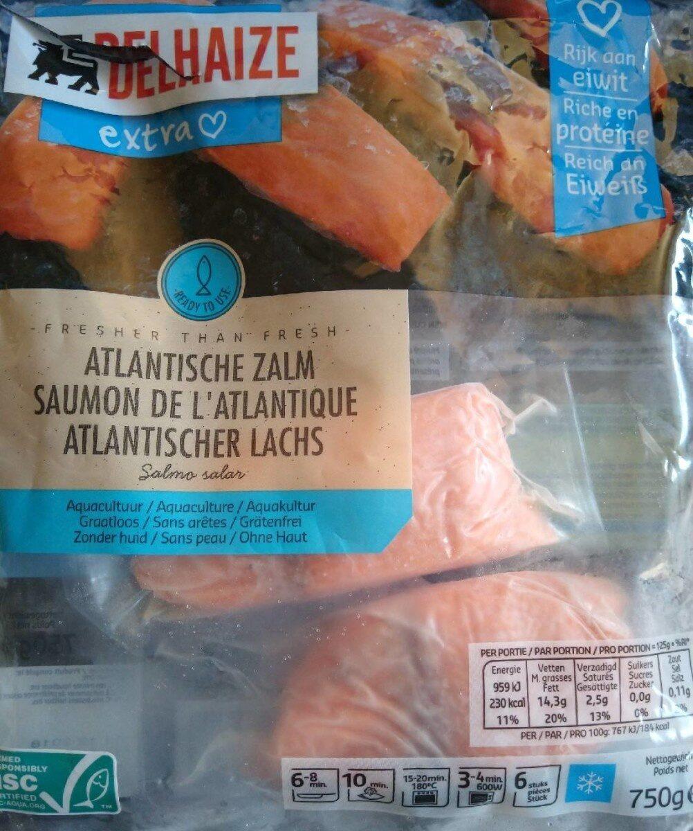 Atlantische zalm - diepvries - Product - fr