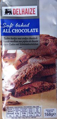 Soft baked all chocolate - Produit