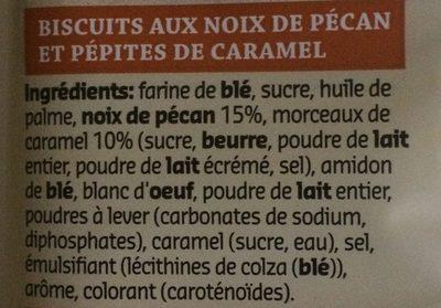 Pecan caramel - Ingrediënten