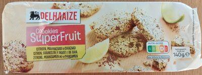 Cookies SuperFruit (citron, graines de pavots et de chia) - Prodotto - fr