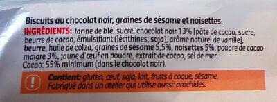 Cookies Superfruit - Ingredienti - fr