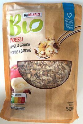 Muesli Pomme & Banane - Produit