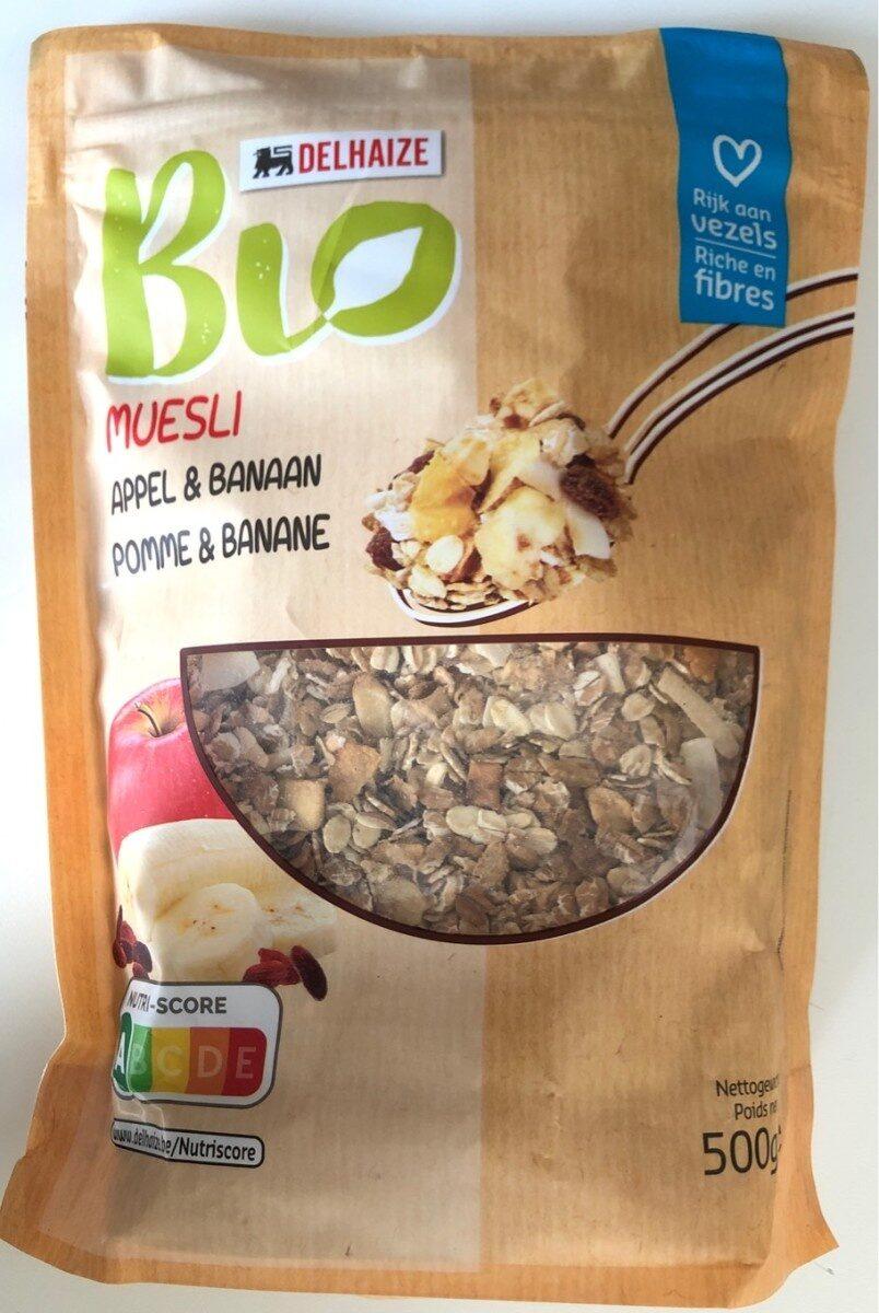 Muesli Pomme & Banane - Product - fr