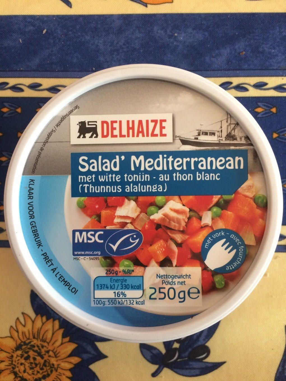 Salad' Mediterranean - Produit