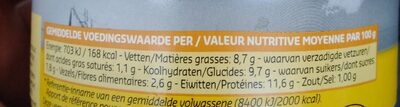Salad' Mexicana - Nutrition facts - fr