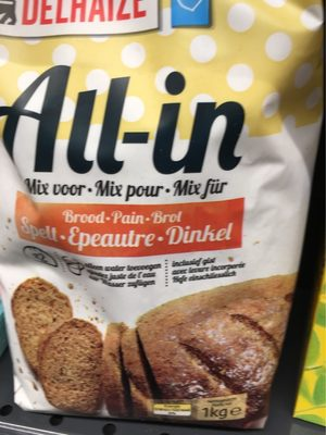 All in mix voor Spelt - Product
