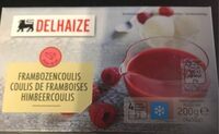 Framboise coulis - Product - fr