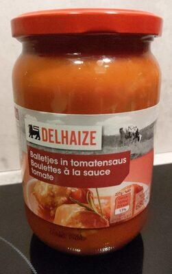 Boulettes à la sauce tomate - Produit - fr