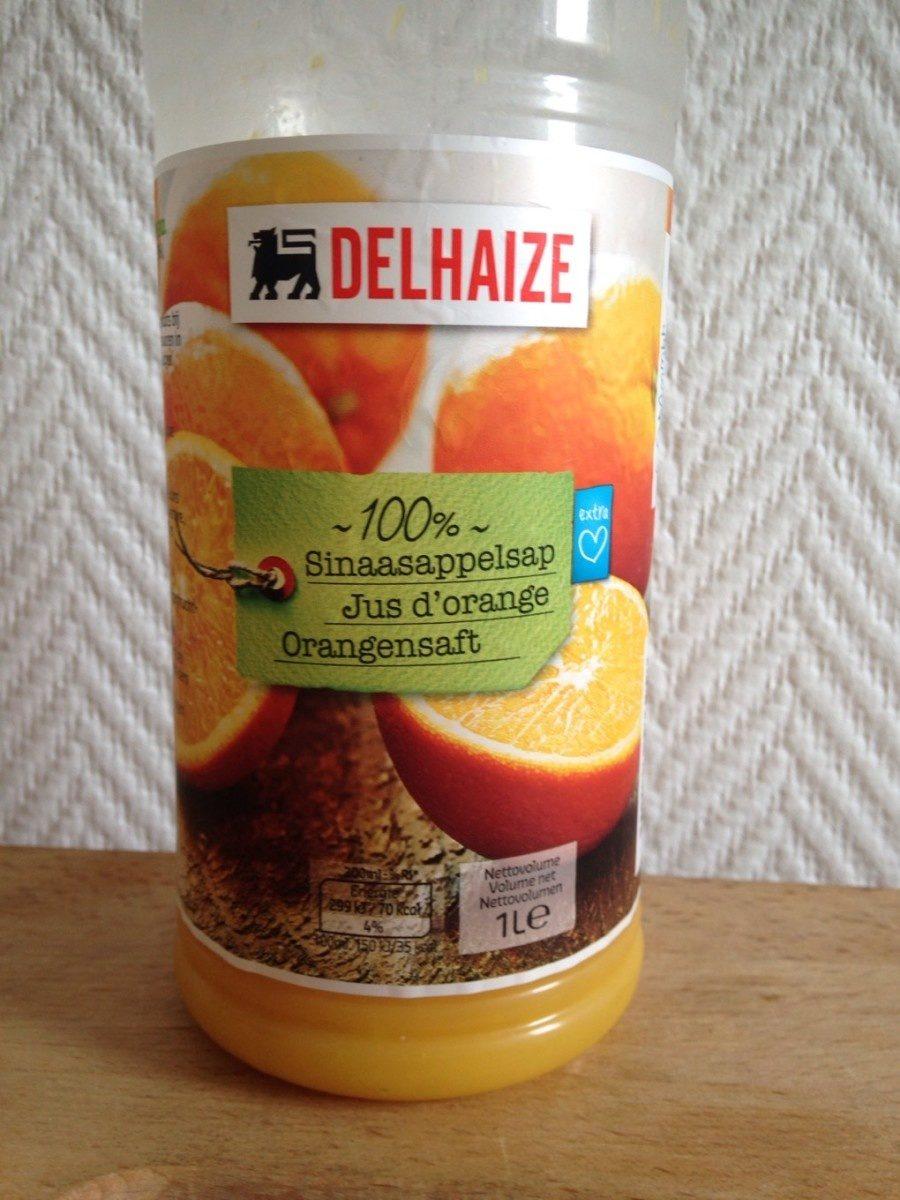 Jus d'orange 100% pur jus - Product - fr