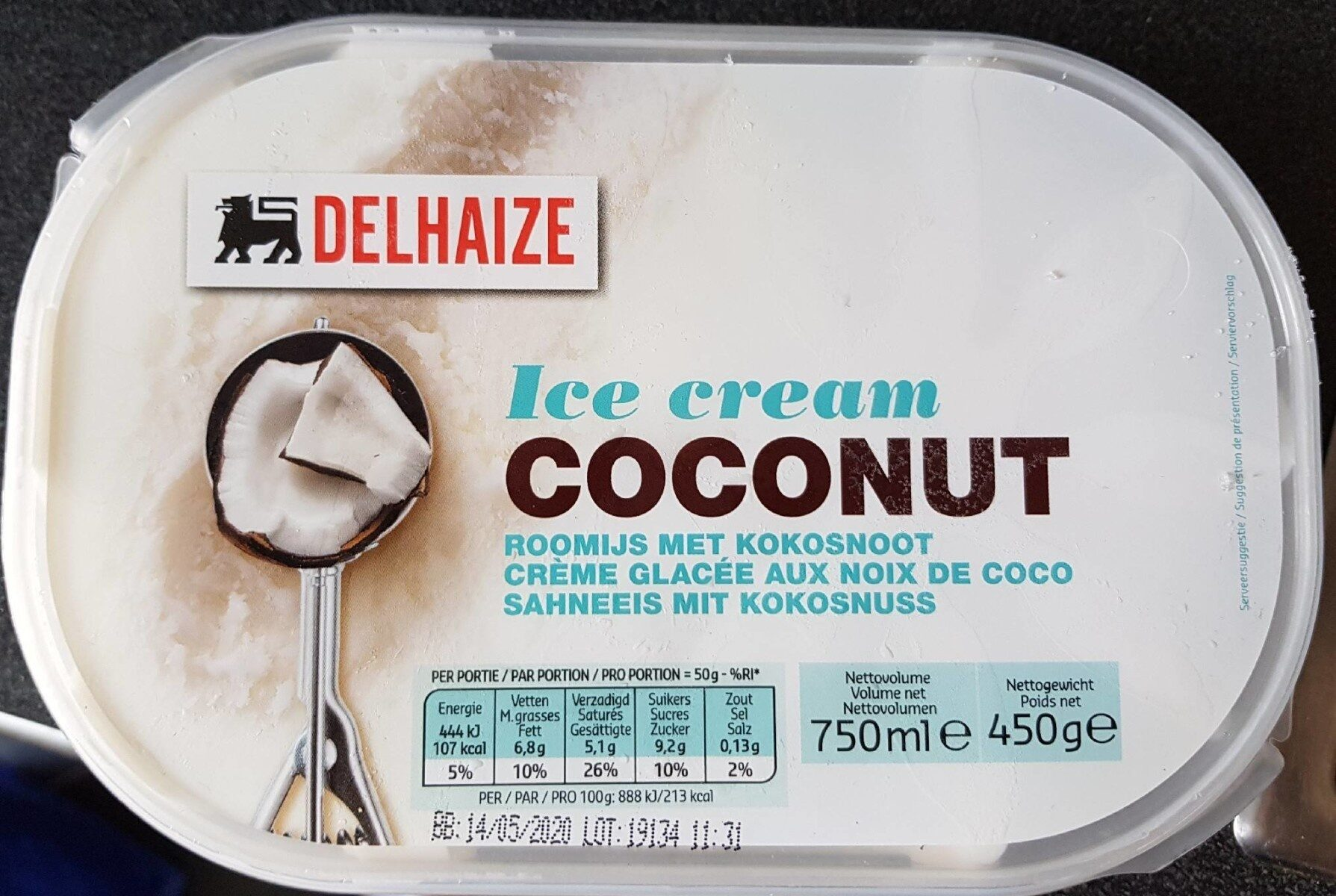 Glace noix de coco - Product - fr