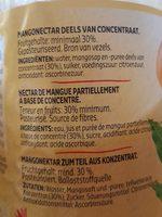 Mango - Ingrediënten