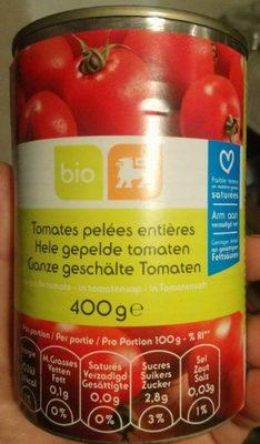 Tomates pelées entières - Produit