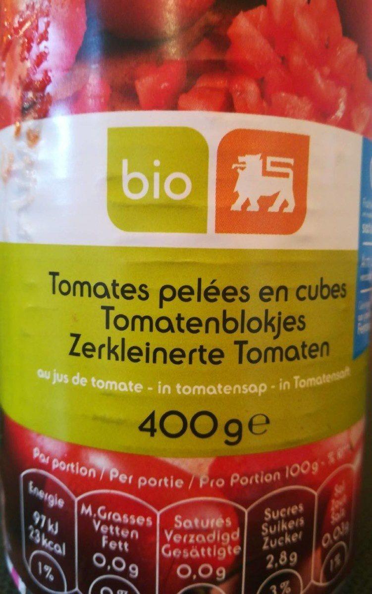 Tomates pelées en cubes - Product - fr