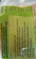 Crevettes cocktail décortiquées - Nutrition facts