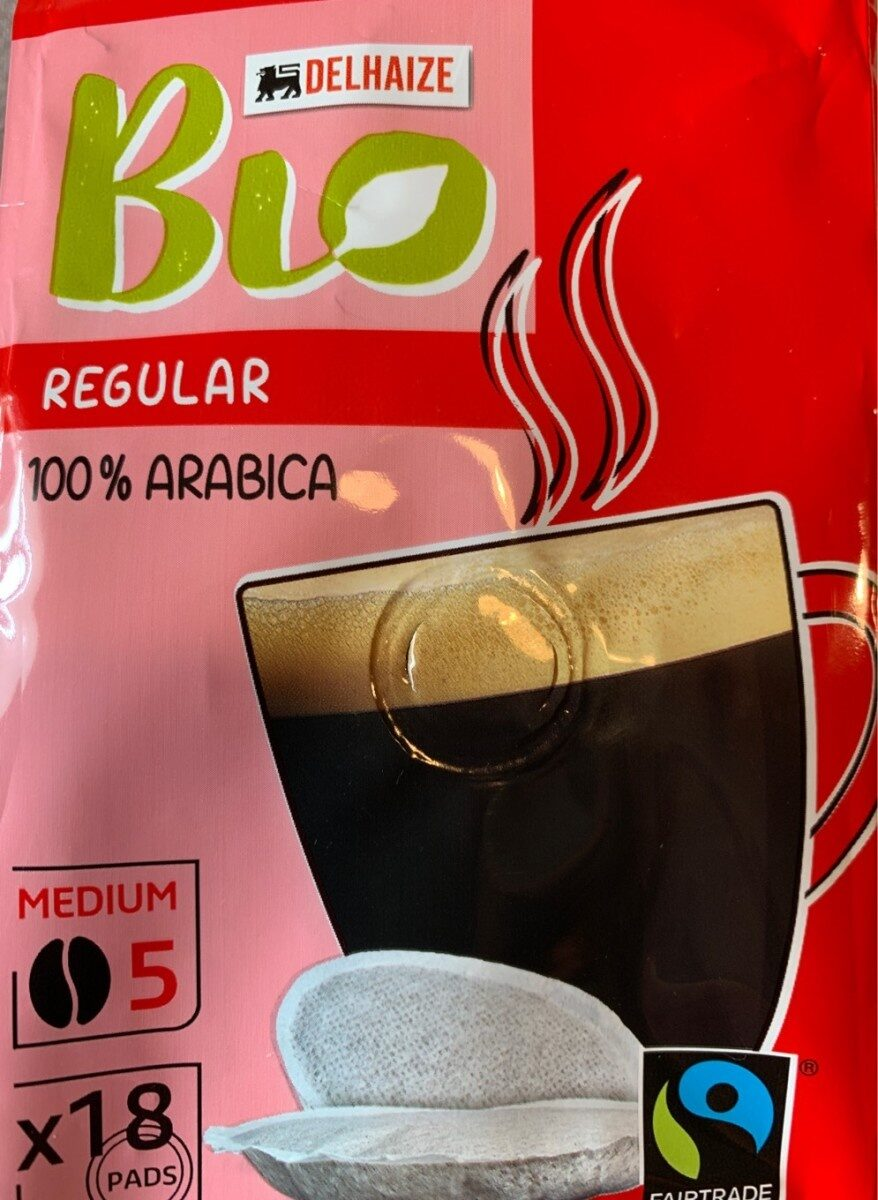 Fairtrade regular arabica coffeepads - Produit - fr