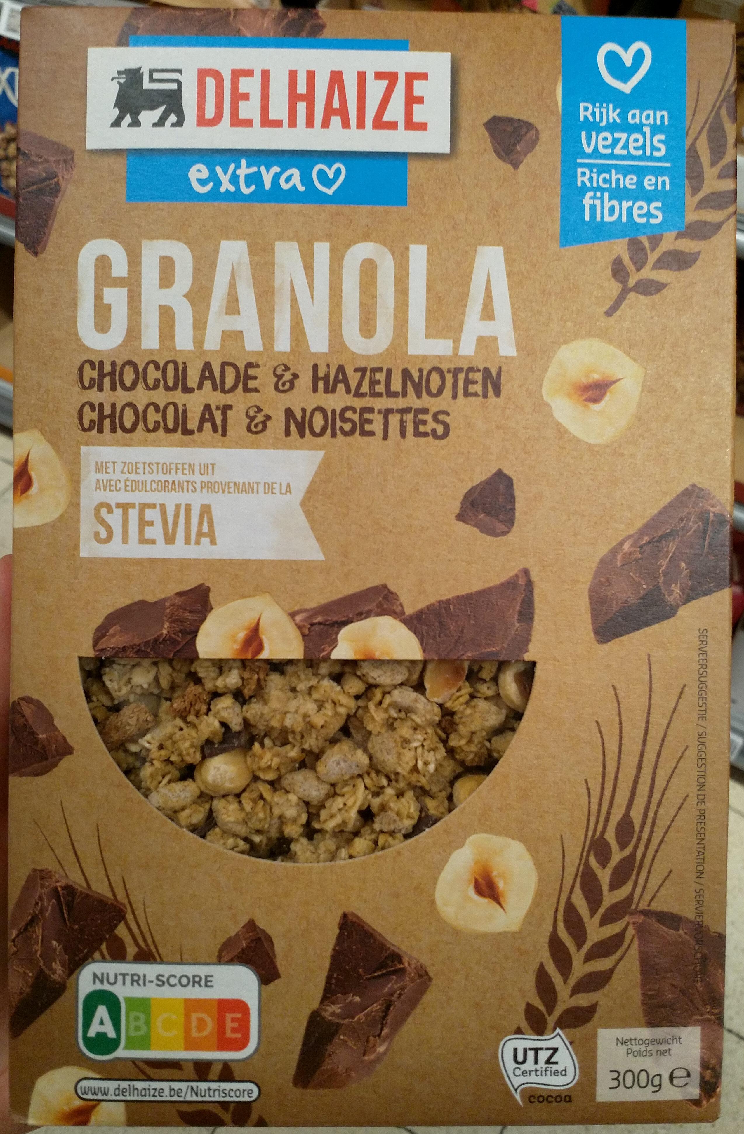 Granola chocolat & noisettes - Product - fr