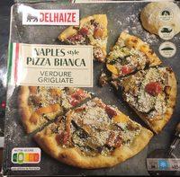 Pizza blanche legumes grillés à la napolitaine - Produit