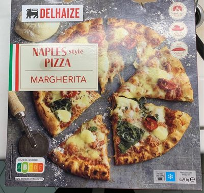 Naples style Pizza margherita - Product - fr