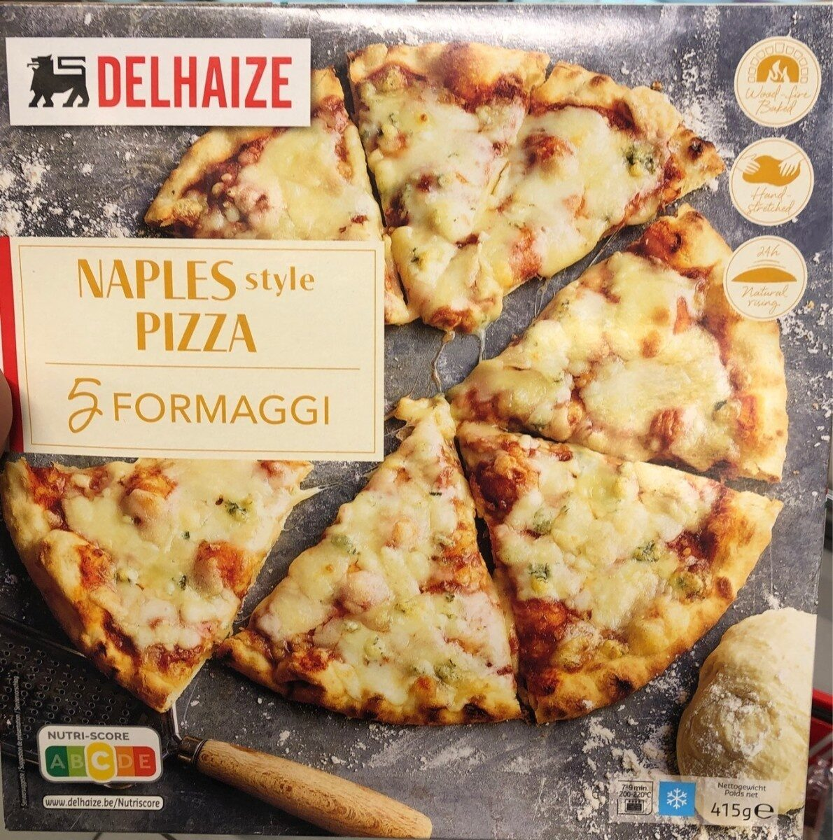 Naples style pizza 5 fromaggi - Product - fr