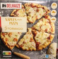 Naples style pizza 5 fromaggi - Product
