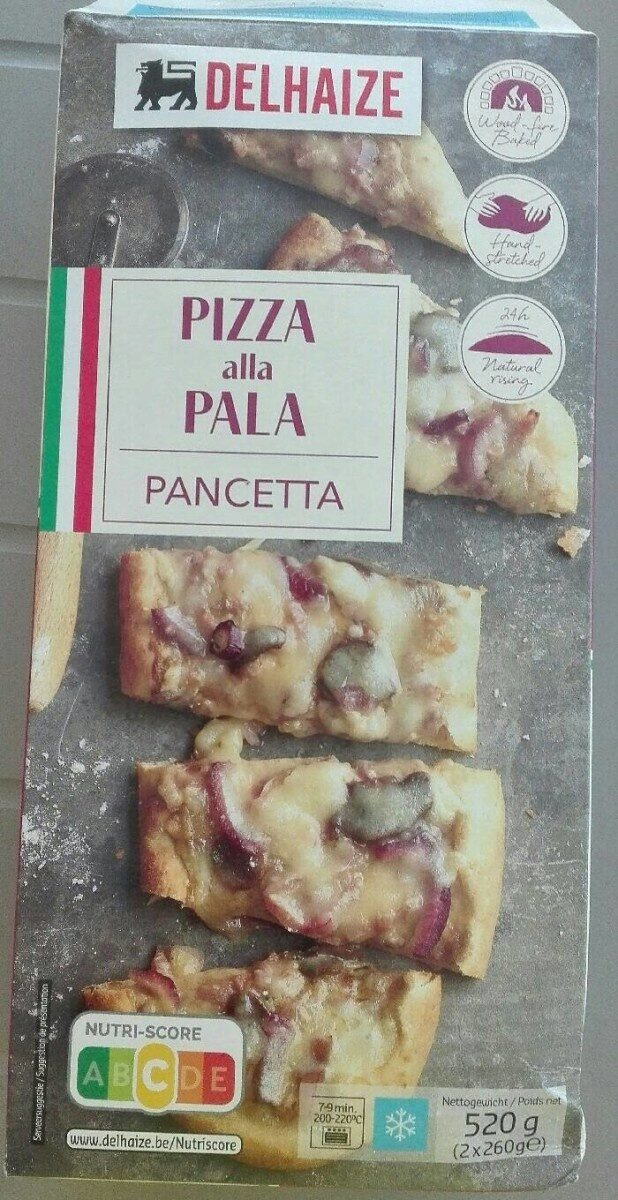 Pizza alla pala - Product - fr