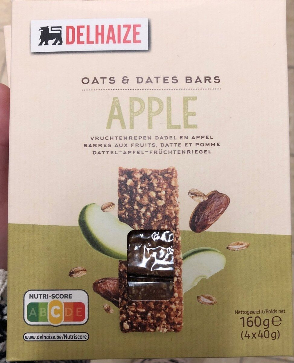 Oats & dates bars - Product