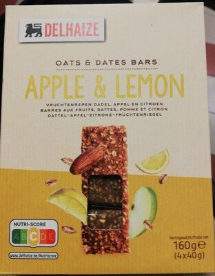 Oats and dates bars apple lemon - Product