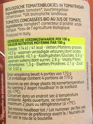 Passata Rustica - Ingredients - fr