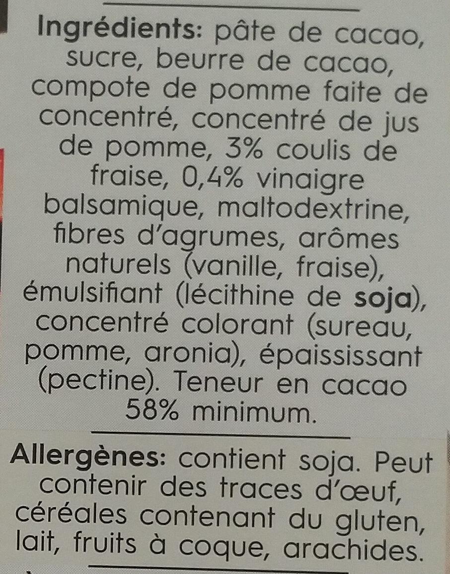 Dark strawberry balsamico - Ingredienti - fr
