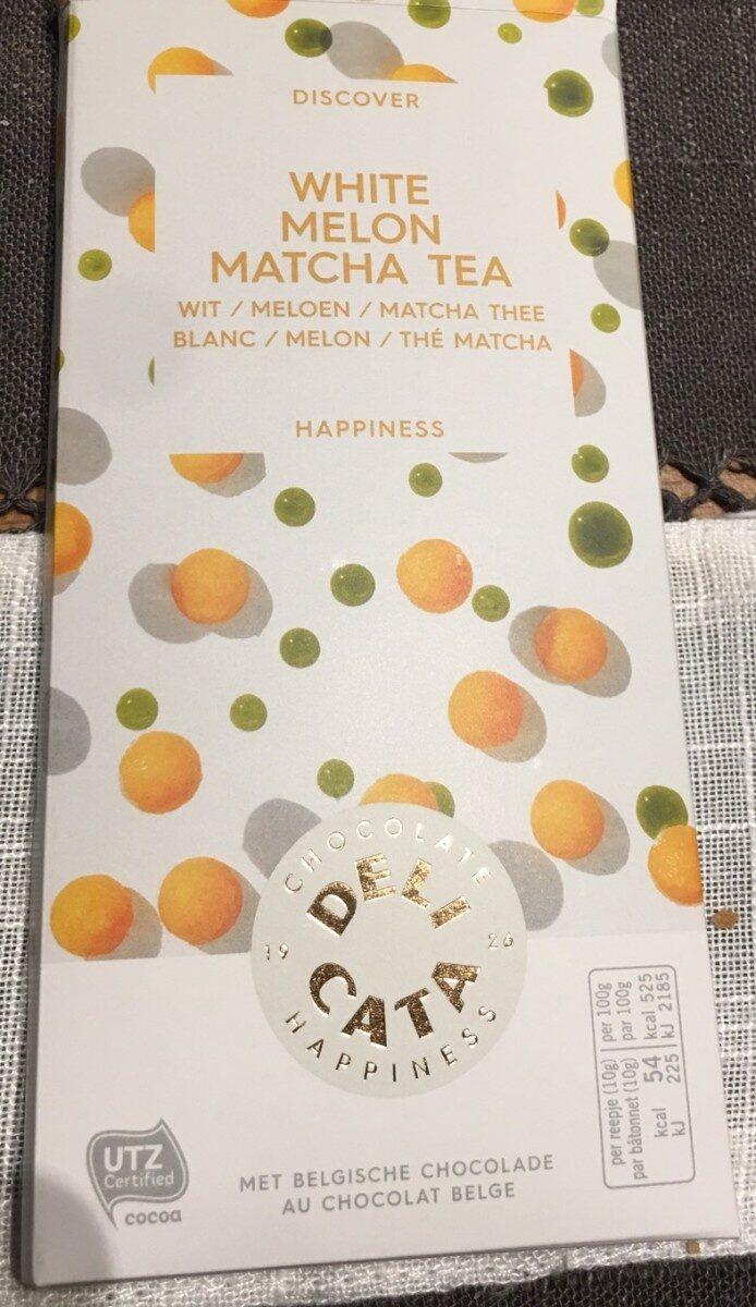 White melon matcha tea chocolate - Product