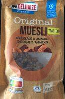 Original muesli toasted - Product - fr