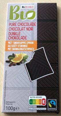 Pure chocolat noir au goût orange - Product