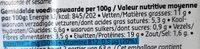Spies jes briochettes - Voedingswaarden