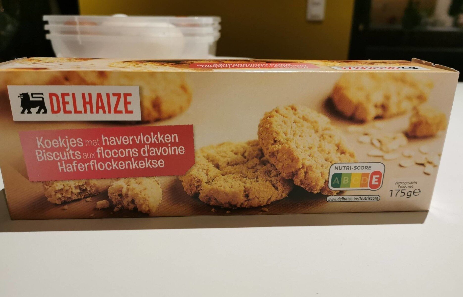 Biscuits aux flocons d'avoine - Product