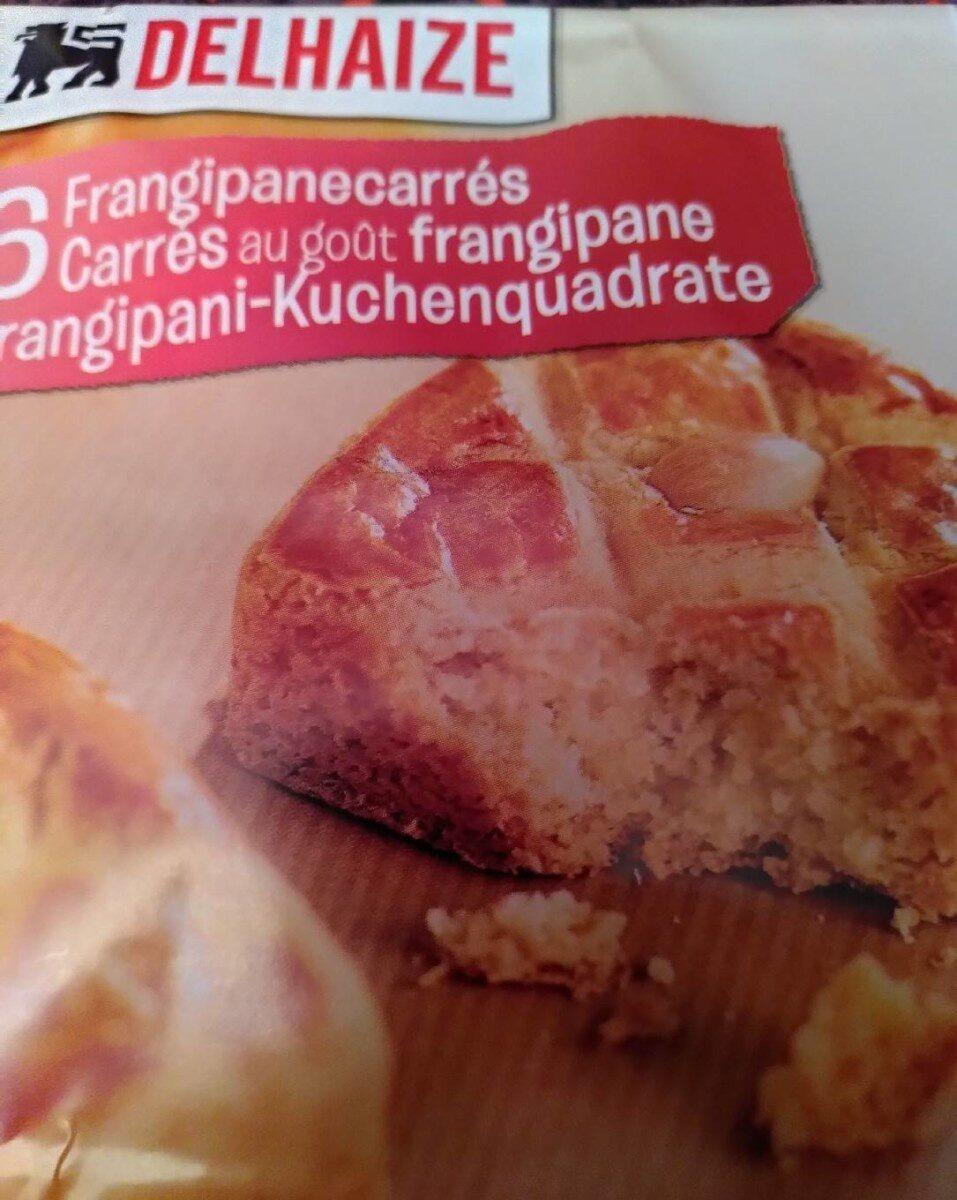 Carrés au goût frangipane - Prodotto - fr