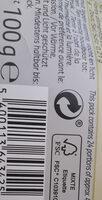Chocolat au lait - Instruction de recyclage et/ou informations d'emballage - fr