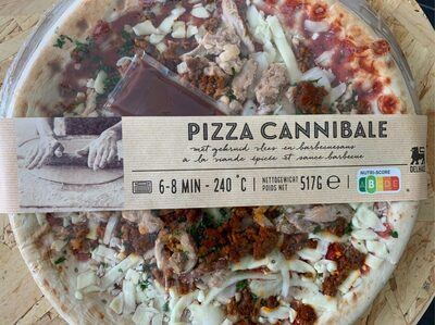 Pizza Cannibale - Product