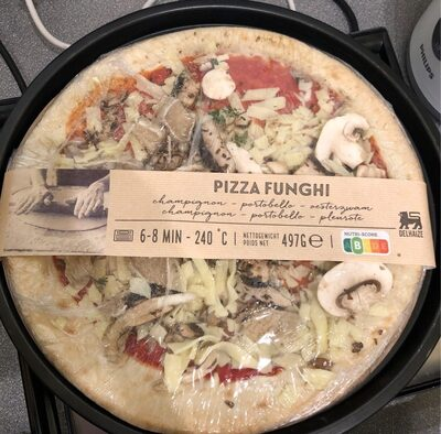 Pizza funghi - Product - fr