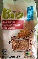 Lentilles rouges - Produit - fr
