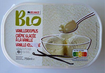 Creme glacee vanille bio - Product - fr
