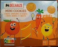 Mini cookies citron orange et carotte - Prodotto - fr