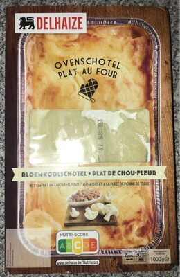 plat de chou-fleur au hachis et purée de pomme de terre - Product