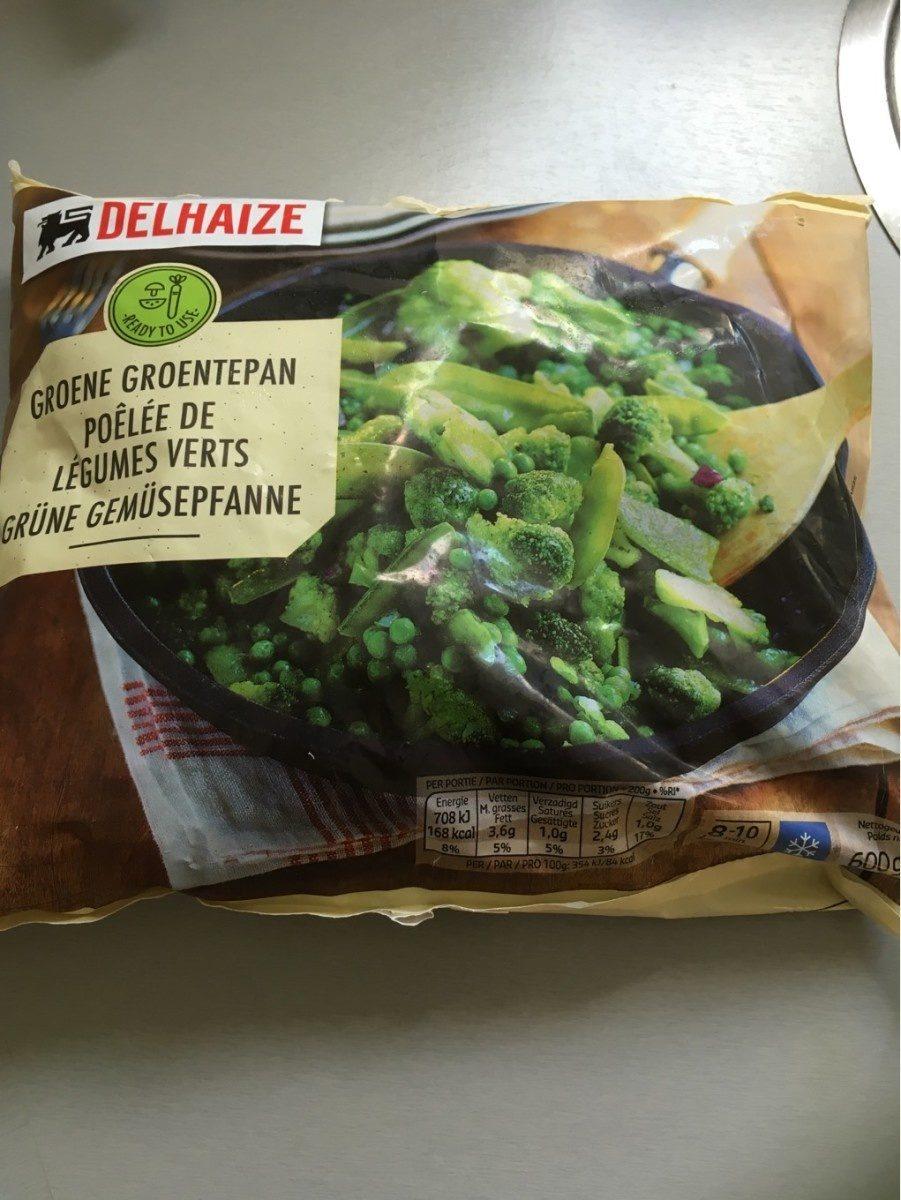 Delhaize Grüne Gemüsepfanne - Product - fr