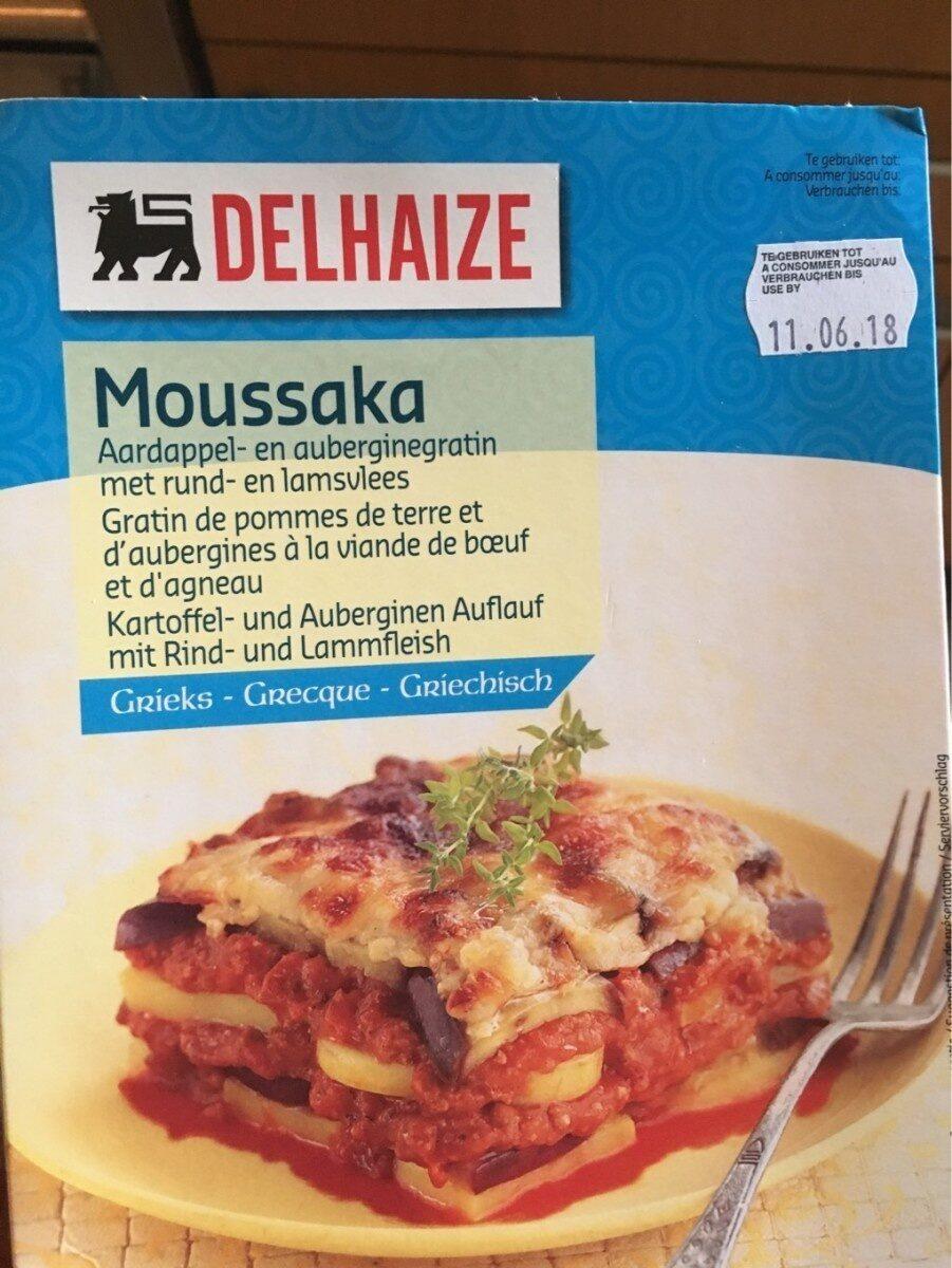 Moussaka - Product - fr