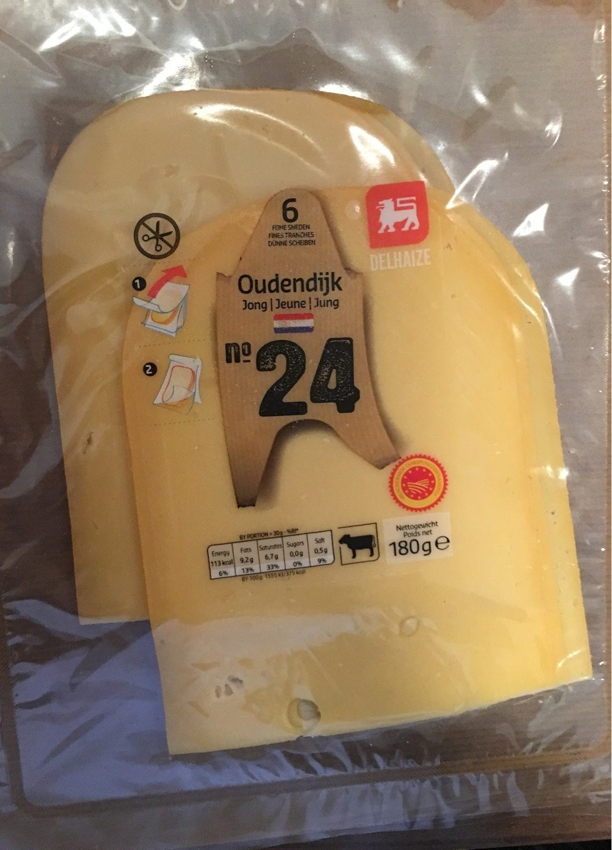 Fromage Oudendijk jeune - Product - fr