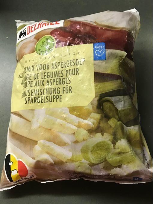 Mélange De Légumes Pour Soupe Aux Asperges - Product