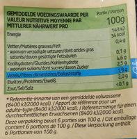 Mélange De Légumes Pour Soupe Aux Asperges - Voedingswaarden