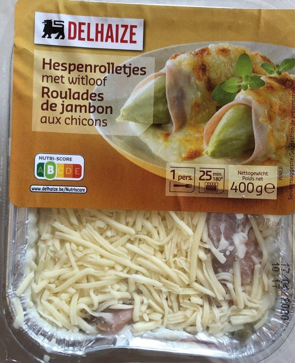 Roulades de jambon aux chicons - Product - fr