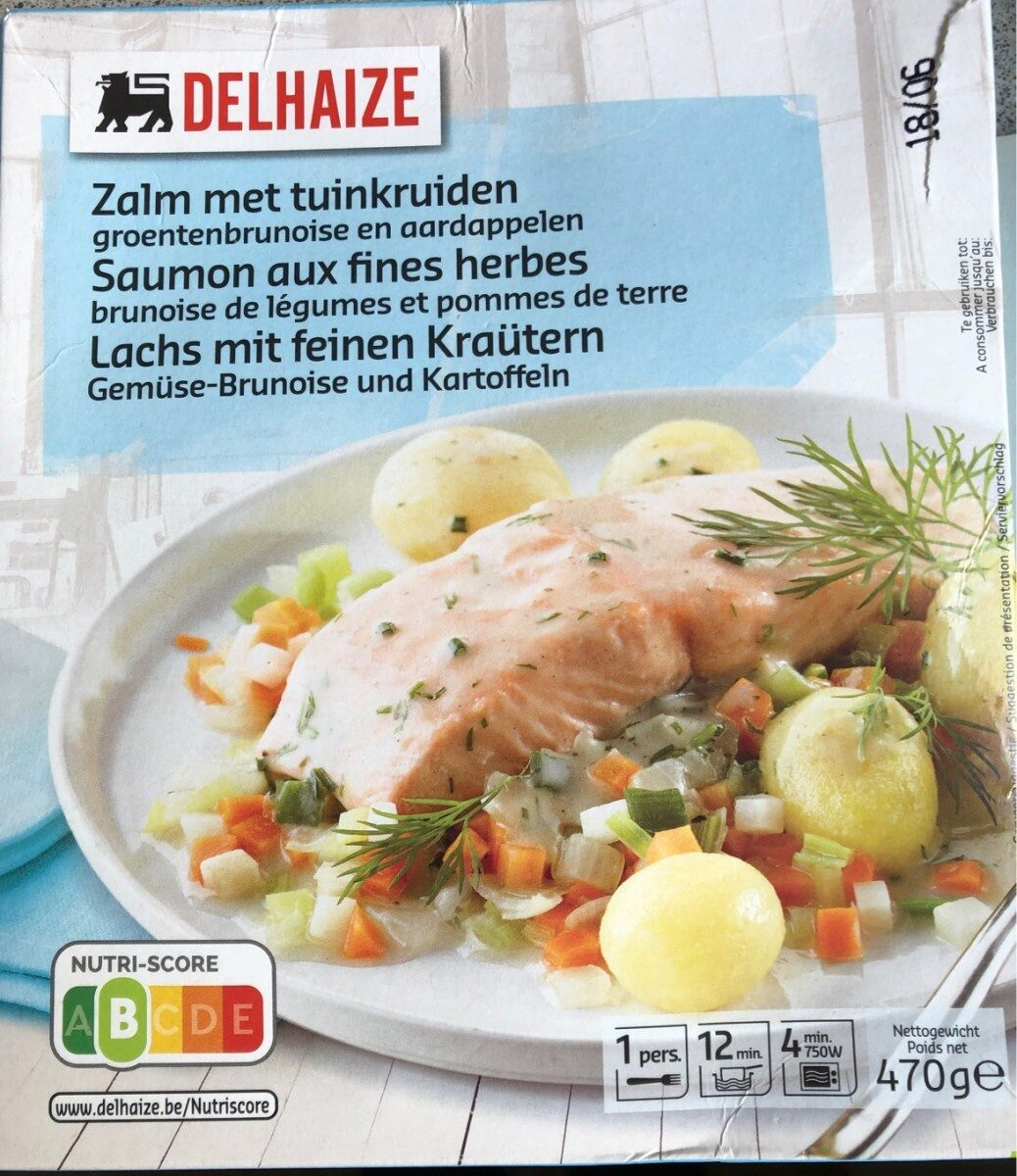 Saumon aux fines herbes - Produit - fr